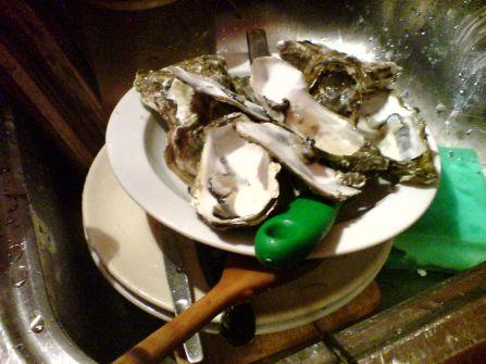 feiste Meeresbewohner mit Beerensekt in resteverwertlicher entsorgungszwischenaufenthaltsgegelegenheit