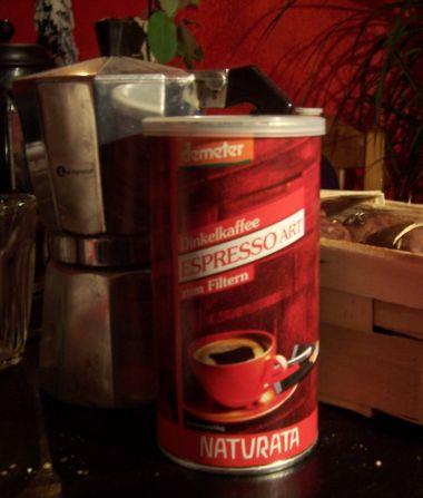 Dinkelkaffee-Dose
