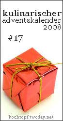 Kulinarischer Adventskalender - 17
