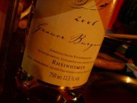 Wein Grauer Burgunder 2006