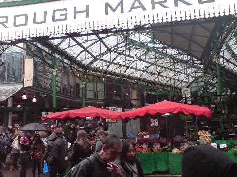 borough market vorne