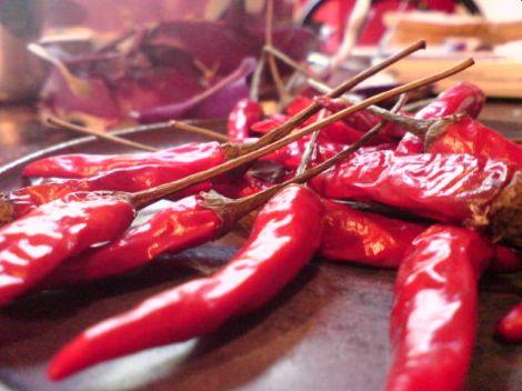 chili leicht angetrocknet