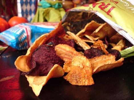 chips aus rote bete pastinaken karotten