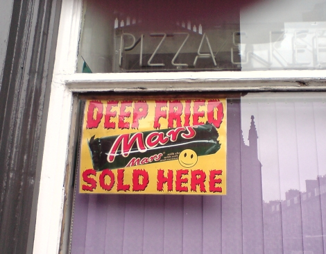 deep fried mars sold here