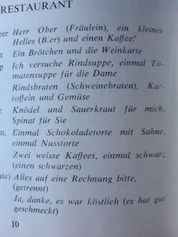 deutsche restauranttipps
