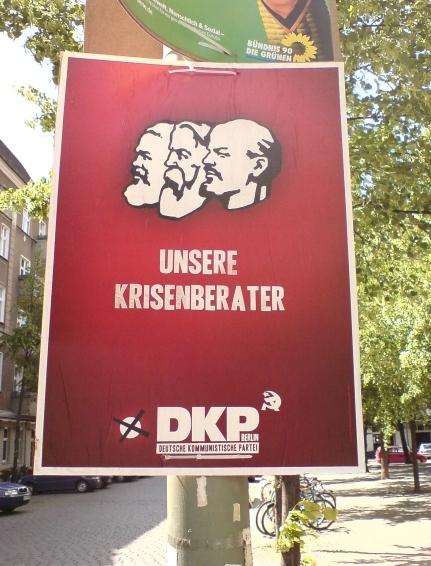 die kleinen und ihre plakate - unsere krisenberater dkp