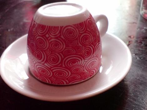 einmal umdrehen fuer die kaffeesatzleserei