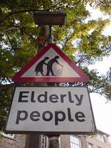 elderly people