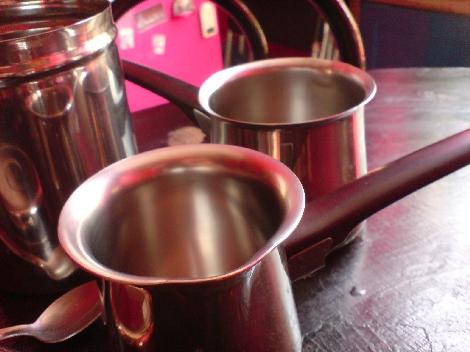 griechisches kaffeetoepfchen