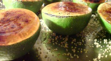 karamelisierte limonen in aufbereitung