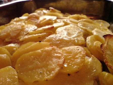 kartoffeln auf fenchel in sahne