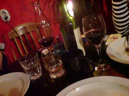 leerer Tisch
