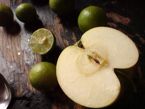 limequat groessenverhaeltnis apfel