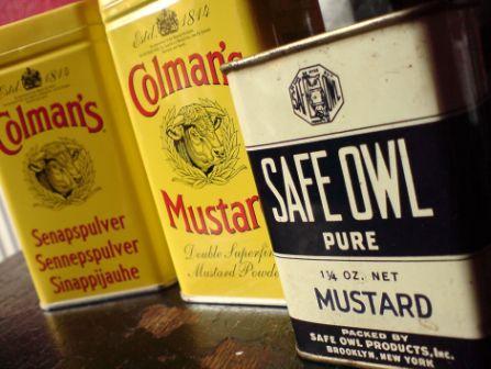 safe owl mustard