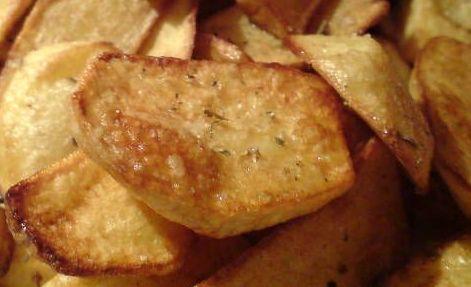 patates und rigani und zitrone