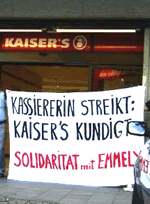 Solidarität mit Emmely