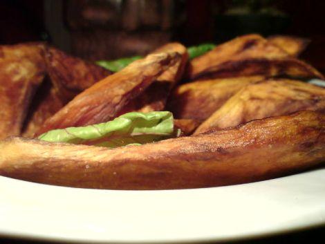 suesskartoffel frittiert