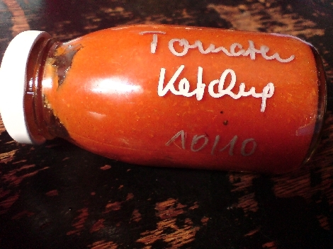 tomaten ketchup selbstgemachter