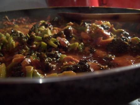 tomaten und broccoli
