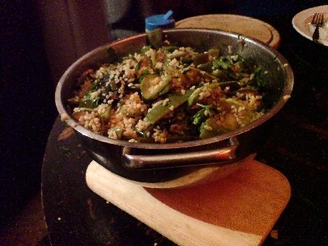 warmer bulgur salat des naechtens