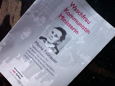 waschfrau kommunistin ministerin minna fasshauer